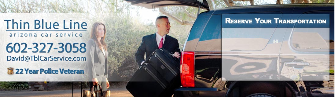 Private Driver and Car Service Scottsdale Arizona